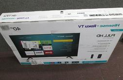 40 Inch Hisense LED Roku Smart TV With google assistant  40H
