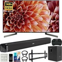Sony 65-Inch 4K Ultra HD Smart LED TV with High End Soundbar