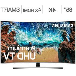 "Samsung Curved 65"" Inch Class  HDR 4K UHD LED LCD TV UN65NU8"