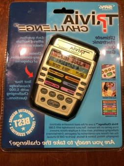 handheld electronic trivia quiz game with 6