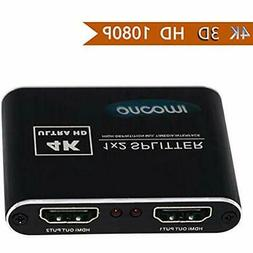 HDMI Audio & Video Accessories Splitter 1 In 2 Out 4K 3D 216