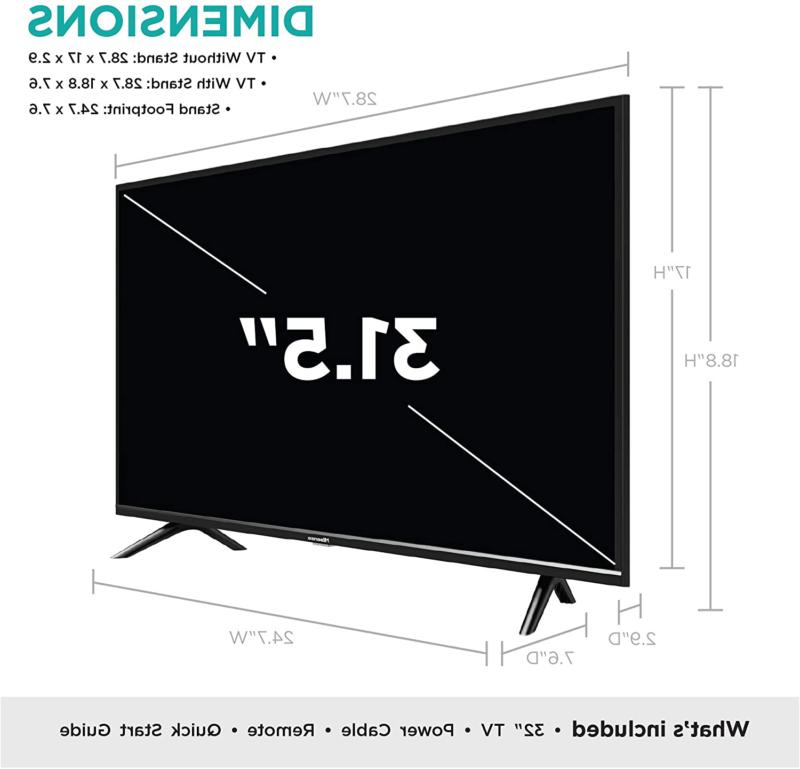 32-Inch with Voice Remote Hisense | NEW