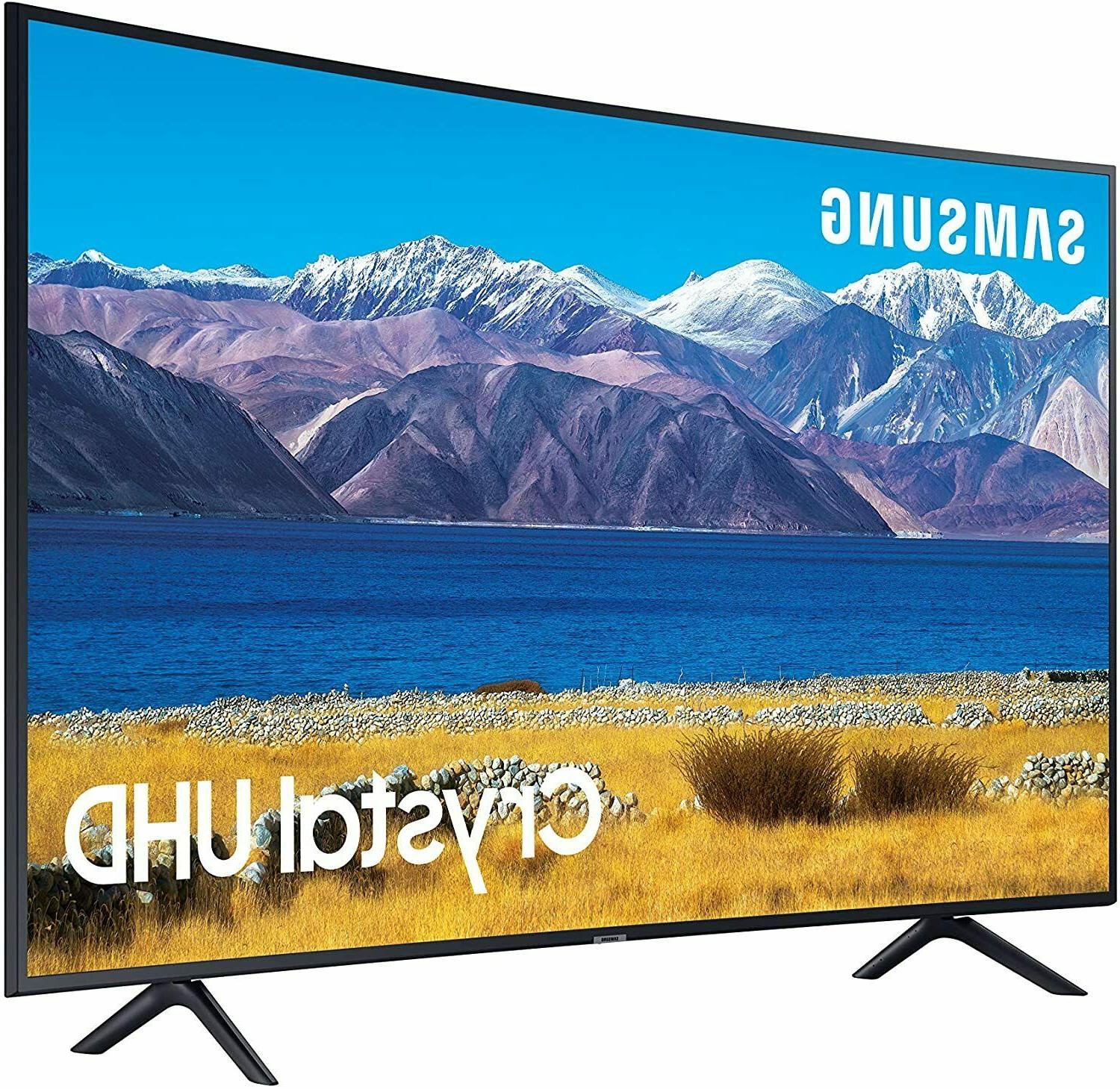 SAMSUNG 65-inch Class Curved UHD Series - Built -