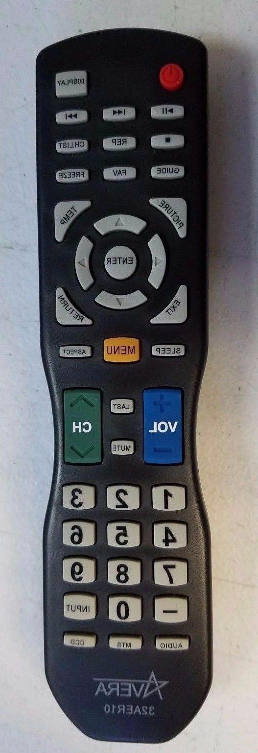 Original new Avera TV Remote for Avera TV Models 40AER10 32A