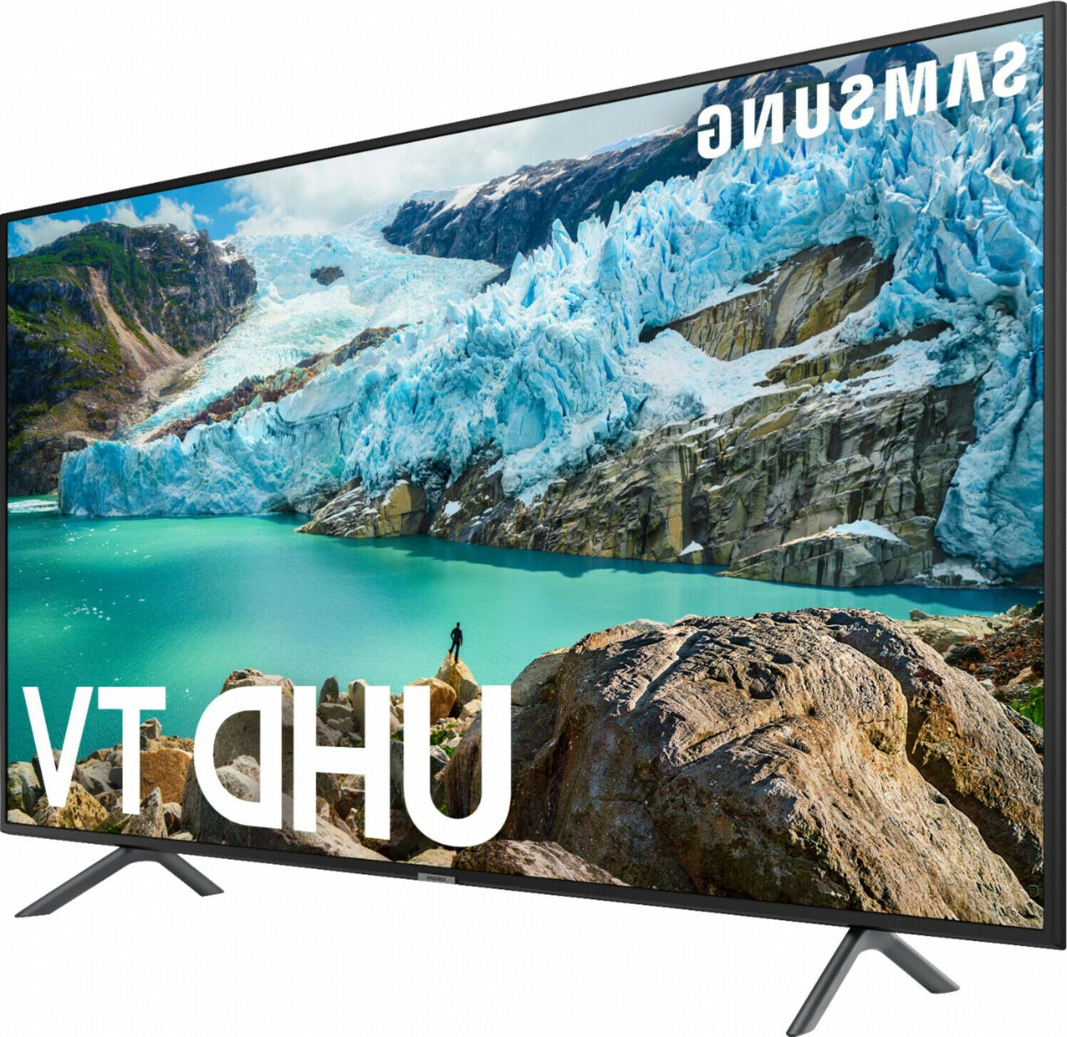 Samsung TV inch 2160p UHD with Built