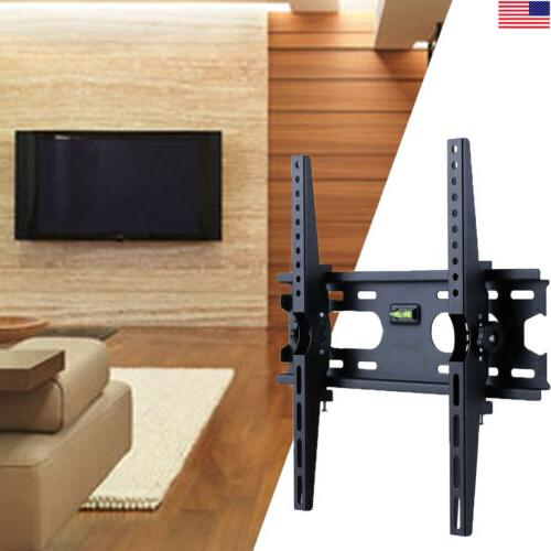 """Tilting TV Wall Low Profile 32-50"""" Easy & Hardware"""