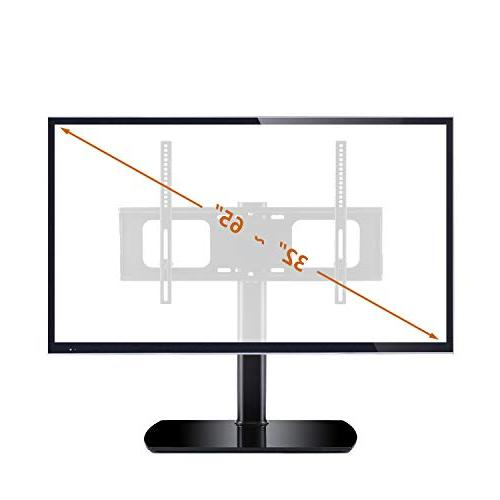 Rfiver Tabletop TV with Mount for 40 42 47 60 65 inch and TVs VESA 600x400mm,