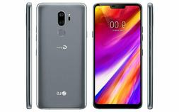 New LG G7 ThinQ LGG710PM - 64GB - New Platinum Gray - Carrie