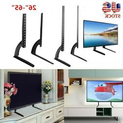 "Universal TV Stand Base Mount for 27""- 65"" for Samsung LG Vi"